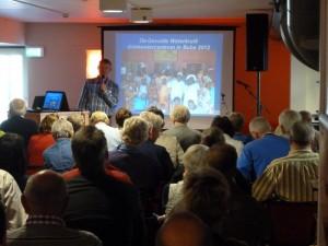 Een presentatie van Paul Akkerman tijdens de Partindag