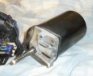 Ruitenwissermotor ontleed